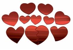 amour, partenaire et effet miroir
