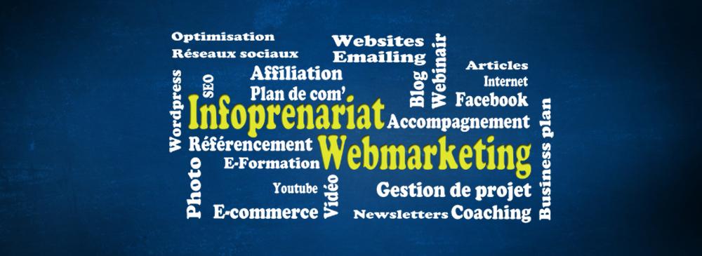 webmarteking et infopreneur