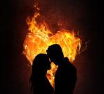 feu et passion amoureuse